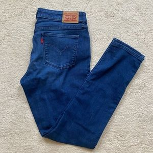 LEVIS 711 SKINNY MEDIUM WASH